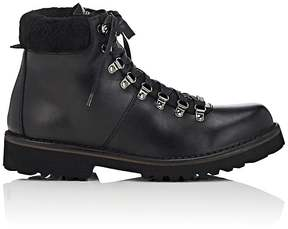 Barneys New York MEN'S LEATHER LACE-UP ANKLE BOOTS