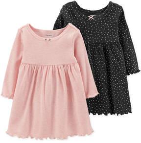 Carter's Baby Girls 2-Pack Popover Dresses