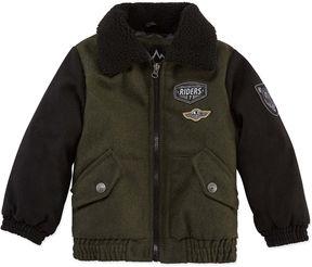 iXtreme Wool Bomber Jacket- Boys Toddler