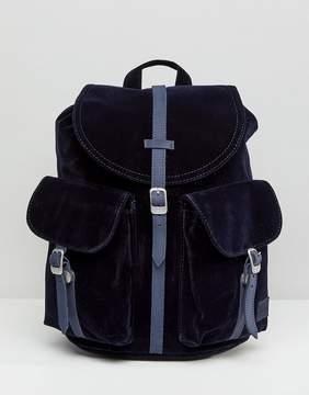 Herschel Dawson Navy Velvet Backpack
