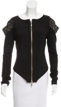 Amen Embellished Knit Jacket w/ Tags