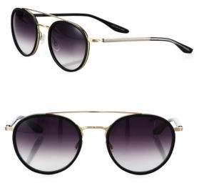 Barton Perreira Justice Round Sunglasses