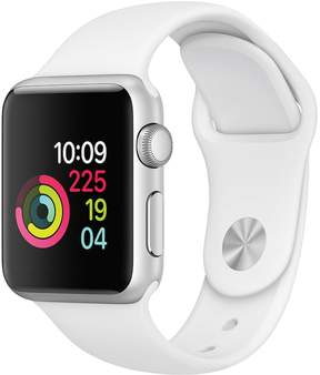 Apple Watch Series 1 (38mm White Aluminum Case with White Sport Band)