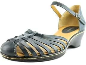 Softspots Tatianna N/s Open Toe Leather Wedge Sandal.