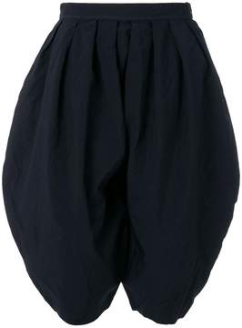 Comme des Garcons round pleated shorts