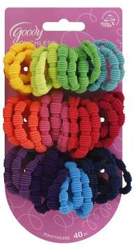 Goody® Ribbed Ponytail Holders - 40 ct