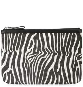 Pierre Hardy zebra printed clutch