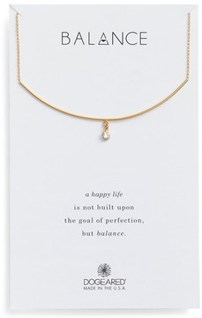 Dogeared Women's Balance Bar Necklace