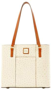 Dooney & Bourke Ostrich Small Lexington Bag - PEARL - STYLE