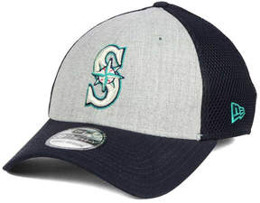 New Era Seattle Mariners Heather Team Neo 39THIRTY Cap