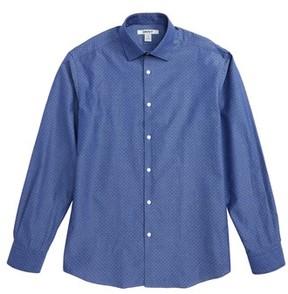DKNY Boy's Dobby Dress Shirt