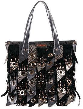 Women's Nicole Lee Danielle Fringe Hobo Bag