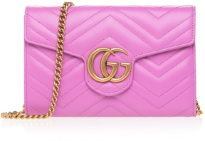 Gucci GG Marmont Quilted Crossbody Bag - ONE COLOR - STYLE