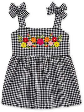 Arizona Gingham Embroidered Tank Top - Girls' 4-16 & Plus