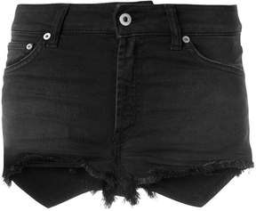 Dondup denim fitted shorts