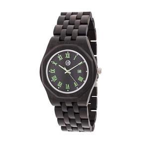 Earth Wood Unisex Brown Bracelet Watch-Ethew5502