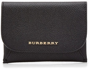 Burberry Leather Coin Purse - BLACK - STYLE