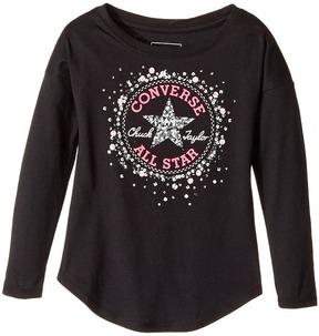 Converse Sequin Chuck Patch Tee Girl's T Shirt