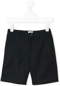 Emporio Armani Kids micro printed shorts