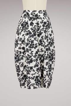 Jil Sander Dryas Cotton Maxi Tulip Skirt