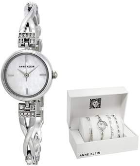 Anne Klein Ladies Watch Set