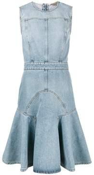 Alexander McQueen Sleeveless Denim Dress