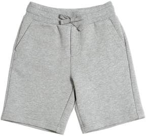 Dolce & Gabbana Embroidered Cotton Jogging Shorts