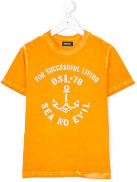 Diesel anchor print t-shirt