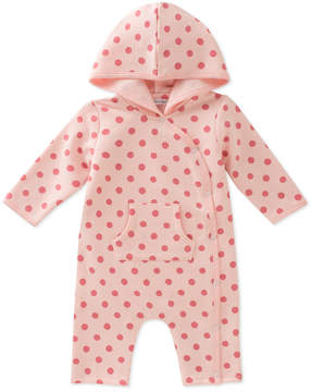 Absorba Girls' Hooded Coverall