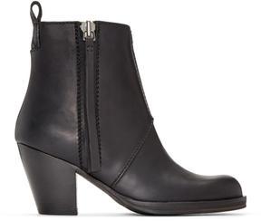 Acne Studios Black Pistol Ankle Boots