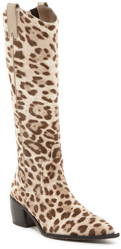 Donald J Pliner Fiona Genuine Calf Hair Leopard Boot