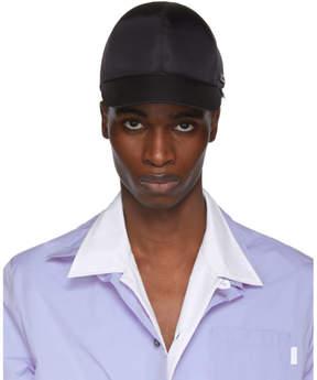Prada Black Nylon Cap
