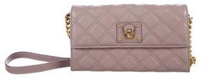 Marc Jacobs Quilted Crossbody Bag - PURPLE - STYLE