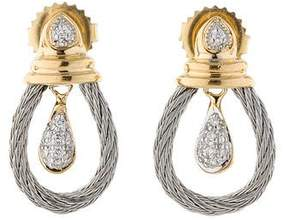 Charriol Classique Diamond Drop Earrings