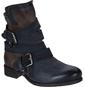 Miz Mooz As Is Leather Ankle Boots w/ Buckle Detail- Savvy