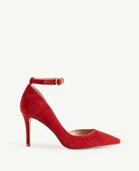 Ann Taylor Stephania Suede D'Orsay Pumps