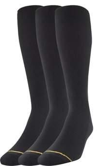 Gold Toe Gt a Goldtoe Brand GT by 3-Pair Big & Tall Nylon Rib Socks