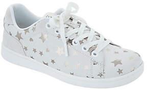 ED Ellen Degeneres Star Print Lace-Up Sneakers- Chapastar