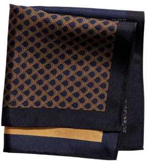 H&M Color-block Silk Handkerchief