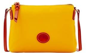 Dooney & Bourke Nylon Crossbody Pouchette Shoulder Bag - YELLOW - STYLE