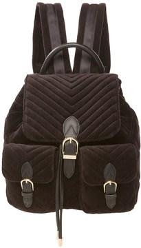 Juicy Couture Velour Fairmont Fairytale Buckle Backpack
