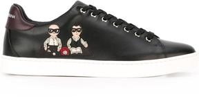 Dolce & Gabbana Designers patch sneakers