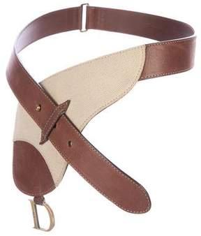 Christian Dior Saddle Waist Bum Bag