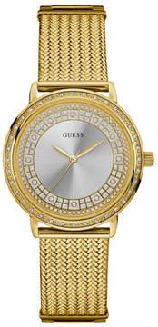 GUESS Willow Gold-Tone Mesh Watch