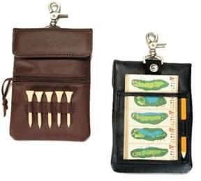 Royce Leather Unisex Clip-on Golf Accessory Bag 672-5