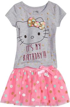 Hello Kitty 2-Pc. T-Shirt & Tutu Skirt Set, Baby Girls