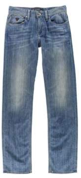 GUESS Mens Classic Slim Straight Leg Jeans Blue 29x31