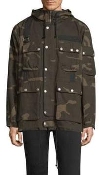 Ovadia & Sons Camouflage Cotton Jacket