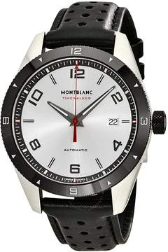 Montblanc TimeWalker Automatic Silver Dial Men's Watch