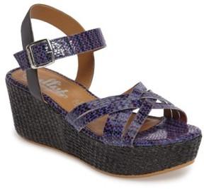 Callisto Women's Valencia Platform Wedge Sandal